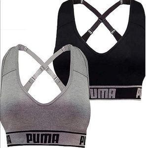NWT Puma Seamless Sports Bra/2 Pack Small